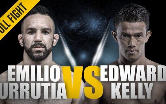 ONE: Full Fight | Emilio Urrutia vs. Edward Kelly | The Breakout Performance | August 2017