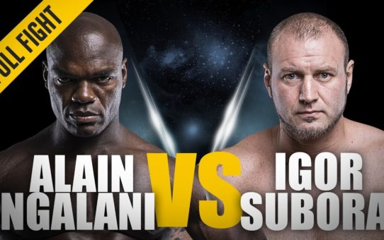 ONE: Full Fight | Alain Ngalani vs. Igor Subora | A Heavyweight Knockout | November 2015