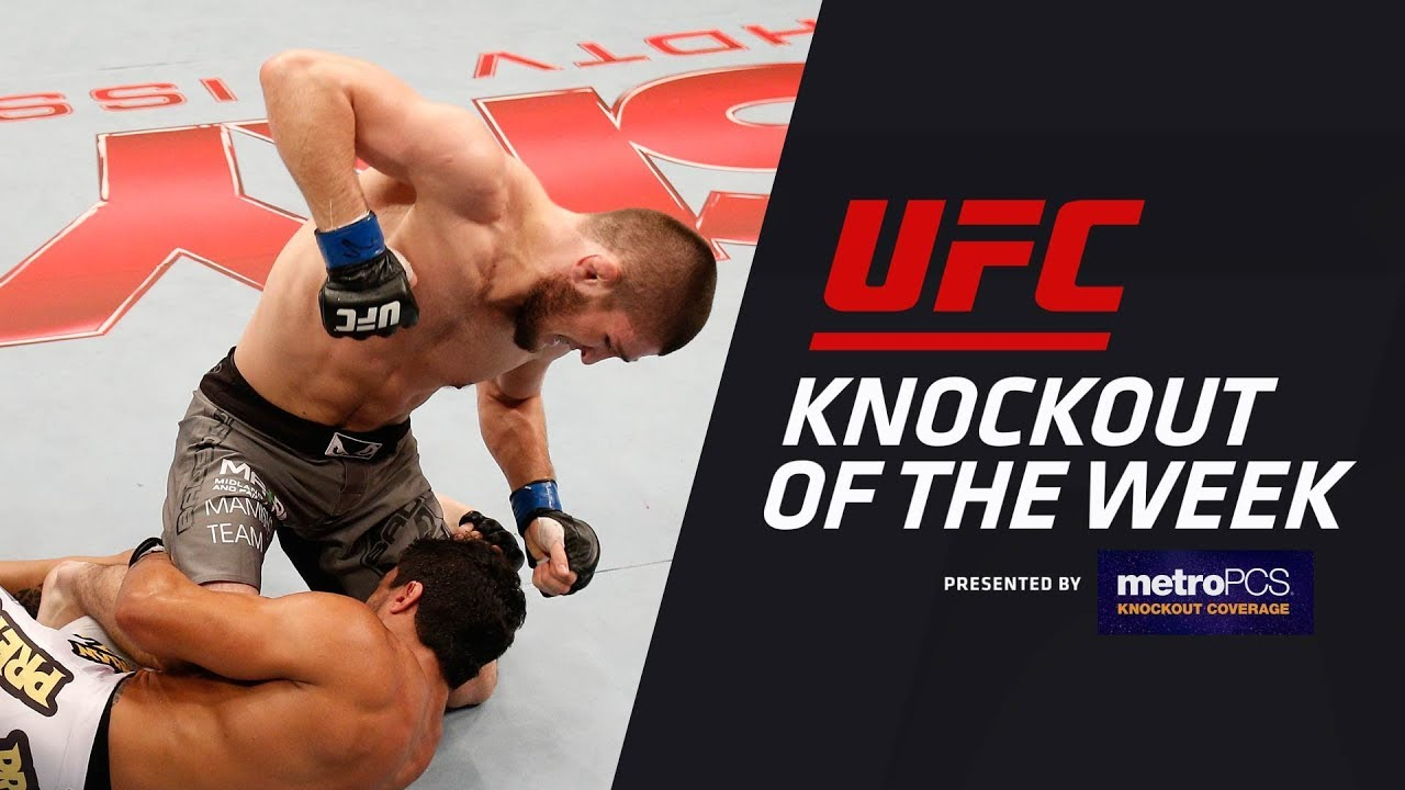 KO of the Week: Khabib Nurmagomedov vs Thiago Taveres