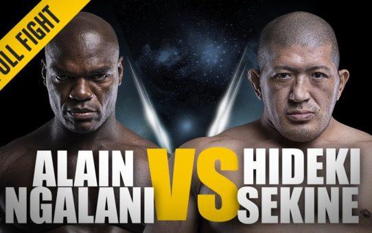 ONE: Full Fight | Alain Ngalani vs. Hideki Sekine | Eleven Second KO | September 2017