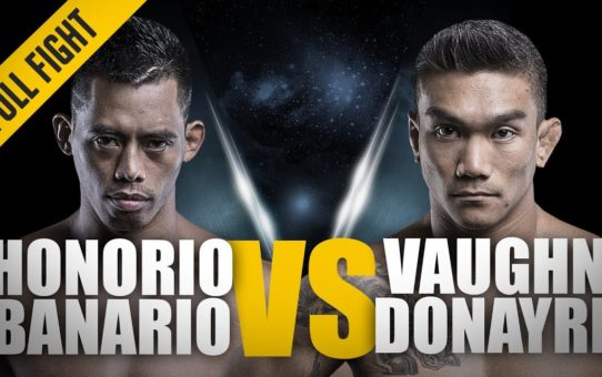 ONE: Full Fight | Honorio Banario vs. Vaughn Donayre | A Filipino Battle | April 2016