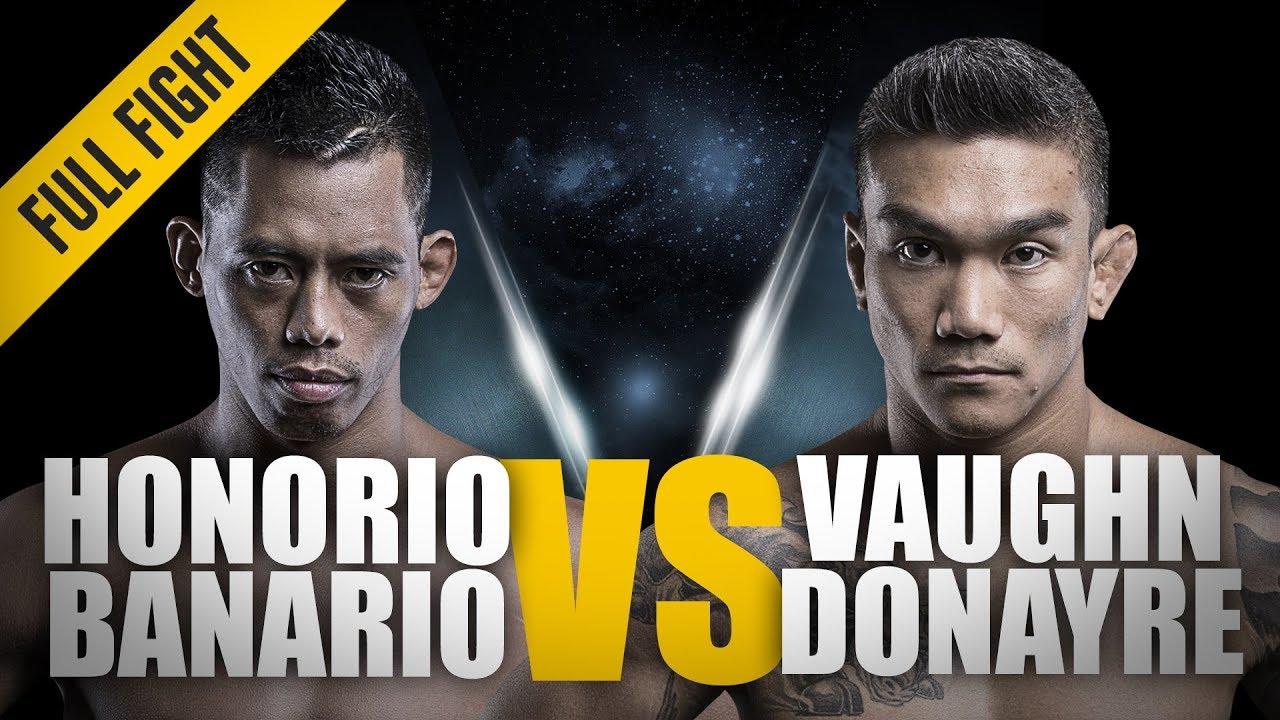 ONE: Full Fight | Honorio Banario vs. Vaughn Donayre | A Filipino Battle | April 2016