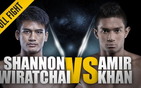 ONE: Full Fight | Shannon Wiratchai vs. Amir Khan | Two Explosive Strikers | May 2015