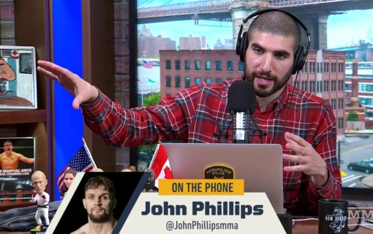 John Phillips Talks Upcoming UFC London Debut, Living in a Caravan on John Kavanaugh's Backyard