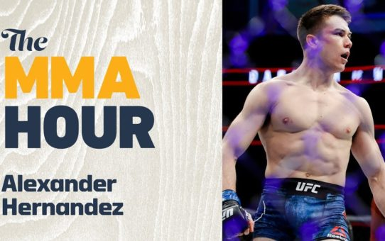 Alexander Hernandez Explains how Old Mortgage Career Helped His Stunning UFC Debut