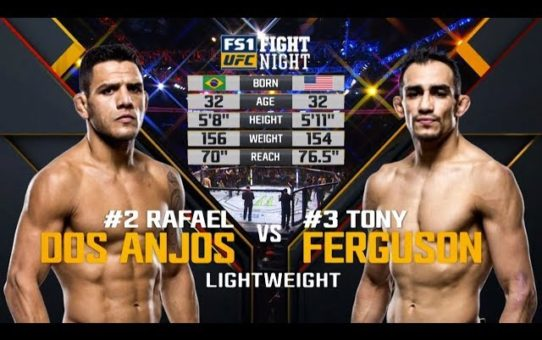 UFC 223 Free Fight: Tony Ferguson vs Rafael Dos Anjos