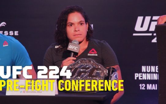 UFC 224 Press Conference – MMA Fighting