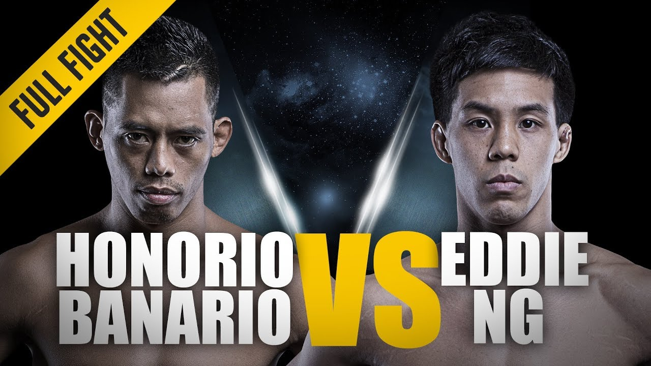 ONE: Full Fight | Honorio Banario vs. Eddie Ng | A High-Intensity Battle | August 2016