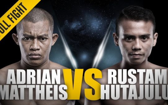 ONE: Full Fight   Adrian Mattheis vs Rustam Hutajulu   Stunning KO   August 2016