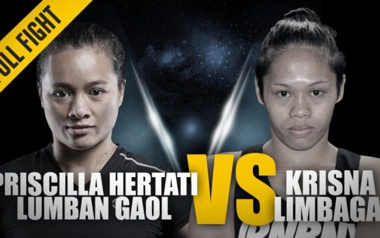 ONE: Full Fight | Priscilla Hertati Lumban Gaol vs. Krisna Limbaga | A Stunning Submission