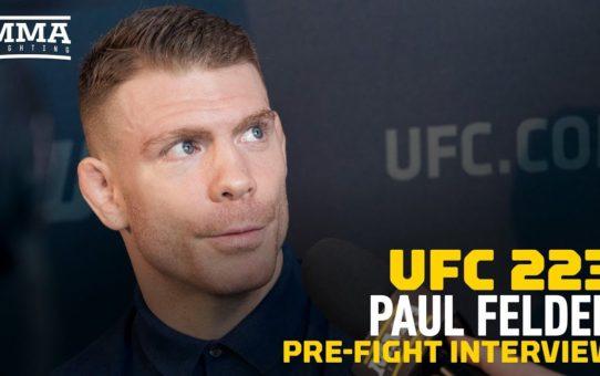 Paul Felder Sums Up UFC 223 Opponent Al Iaquinta: 'He's Just A Dude From Long Island'