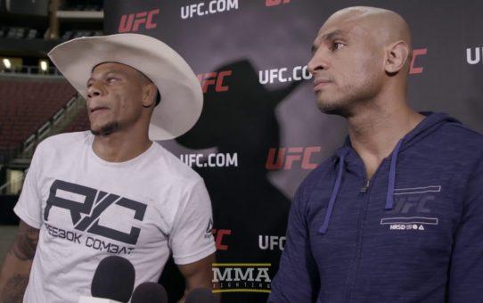 Alex Oliveira UFC on FOX 29 Workout Scrum – MMA Fighting