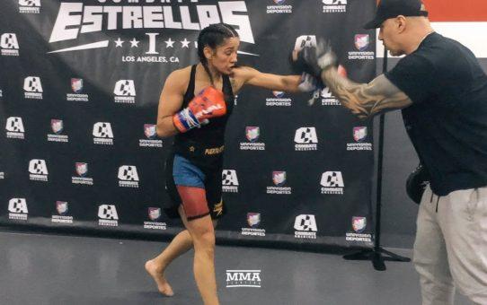 Combate Estrellas: Amanda Serrano Open Workout – MMA Fighting