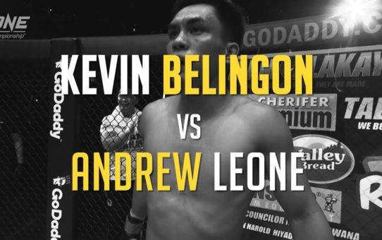 Corner To Corner | Kevin Belingon vs. Andrew Leone | ONE: HEROES OF HONOR