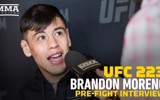 UFC 223: Brandon Moreno Compares His USADA Situation To Canelo Alvarez Drug Failure