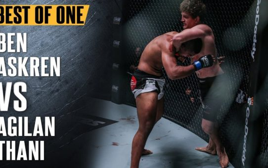 ONE: Best Fights   Ben Askren vs. Agilan Thani   Impeccable Grappling   May 2017