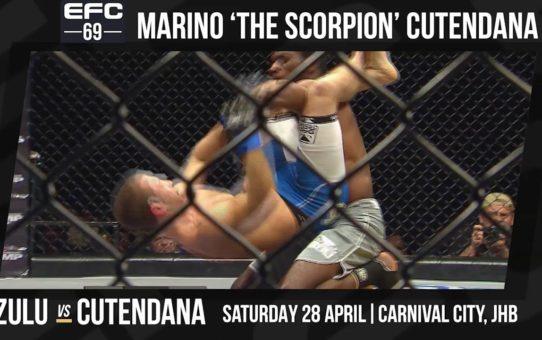 EFC 69: Marino 'The Scorpion' Cutendana
