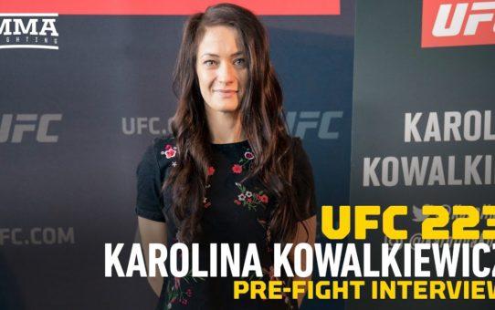 UFC 223: Karolina Kowalkiewicz Feels JJ 'Got What She Deserved' at UFC 217
