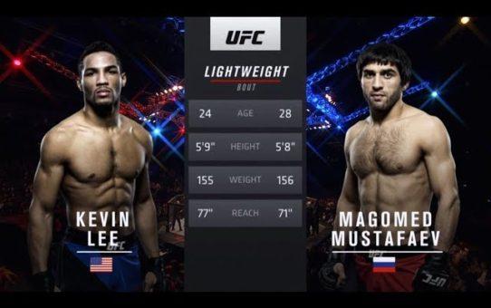 Fight Night Atlantic City Free Fight: Kevin Lee vs Magomed Mustafaev