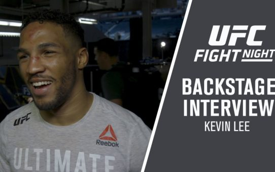 """Fight Night Atlantic City: Kevin Lee – """"That's What a True Fighter Can Do"""""""
