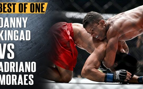 ONE: Best Fights   Danny Kingad vs. Adriano Moraes   The Submission Wizard   November 2017