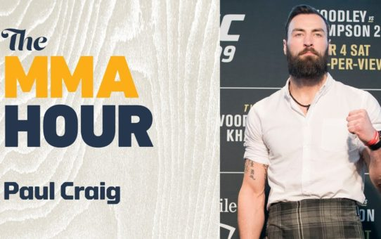 Paul Craig was a Second Away from Retirement Before Victory at UFC London