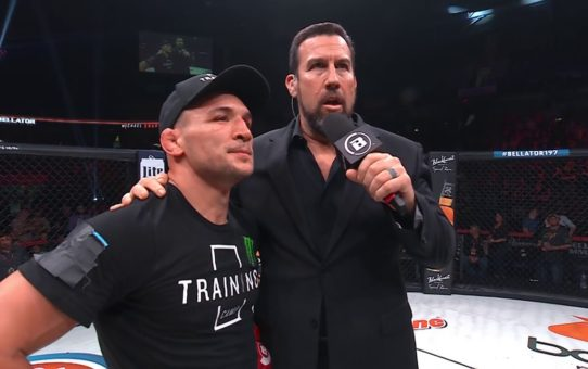 Bellator 197: Michael Chandler – Post-fight interview with Big John McCarthy