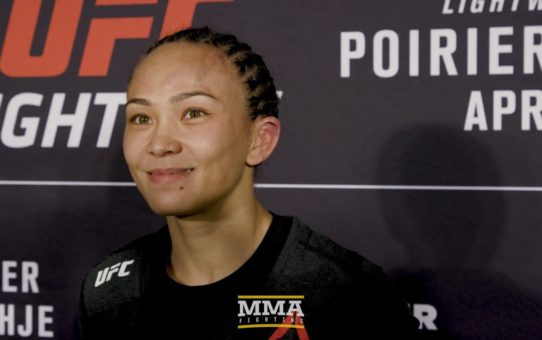 UFC on FOX 29: Michelle Waterson Says Arm Was 'Just Centimeters Off' From Armbar – MMA Fighting