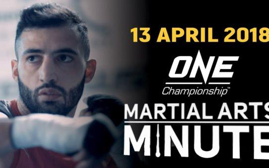 Martial Arts Minute | 13 April 2018