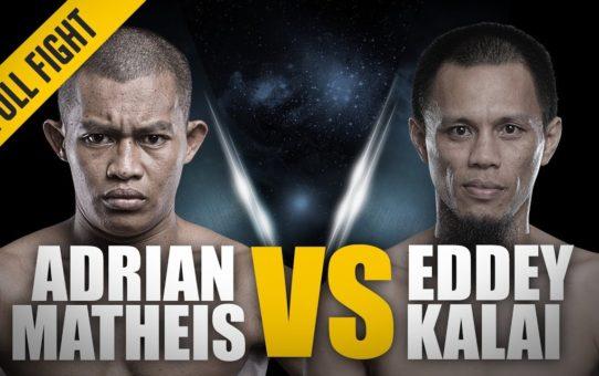 ONE: Full Fight   Adrian Matheis vs. Eddey Kalai   1st Round RNC   January 2018
