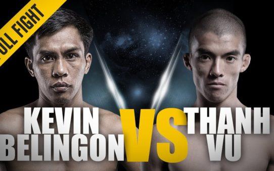 ONE: Full Fight   Kevin Belingon vs. Thanh Vu   Crushing Left Hook   April 2013