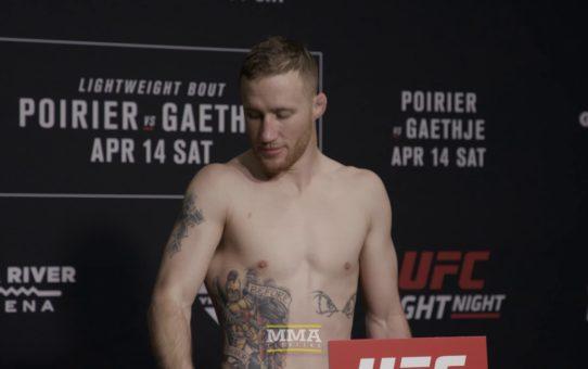 UFC on FOX 29 Weigh-Ins: Justin Gaethje, Dustin Poirier Make Weight – MMA Fighting