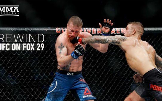 Rewind: UFC on FOX 29 Edition – MMA Fighting