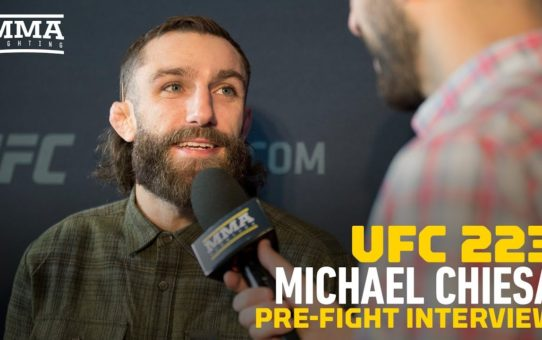 UFC 223: Michael Chiesa Says Official Told Him Mario Yamasaki Is Never Refereeing In UFC Again