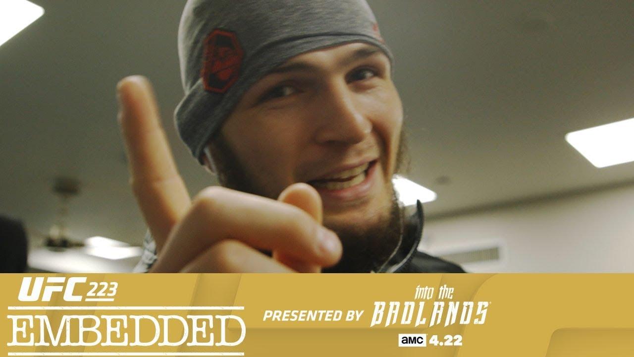 UFC 223 Embedded: Vlog Series - Episode 1
