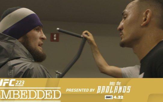 UFC 223 Embedded: Vlog Series – Episode 2