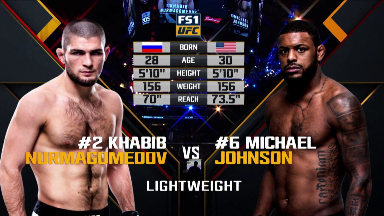 UFC 223 Free Fight: Khabib Nurmagomedov vs Michael Johnson