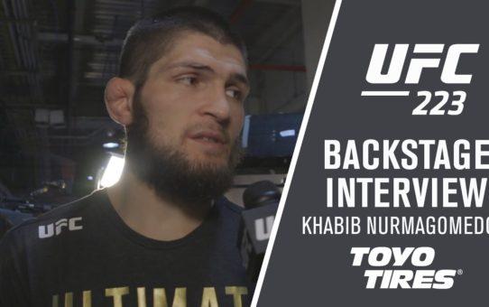 "UFC 223: Khabib Nurmagomedov – ""I'm Going to Hold This Belt All Night"""