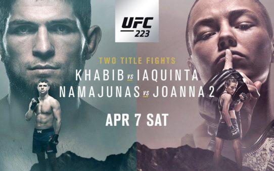 UFC 223: Khabib vs Iaquinta – Promo