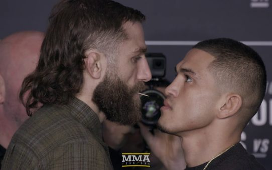 UFC 223 Media Day Staredowns (w/commentary) – MMA Fighting