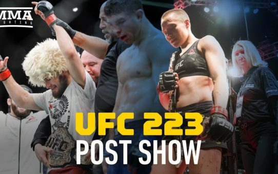 UFC 223 Post-Fight Show – MMA Fighting