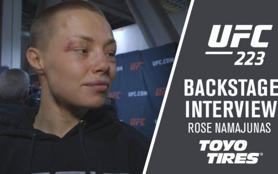 """UFC 223: Rose Namajunas – """"I Feel Good, Adrenaline is a Hell of a Drug"""""""