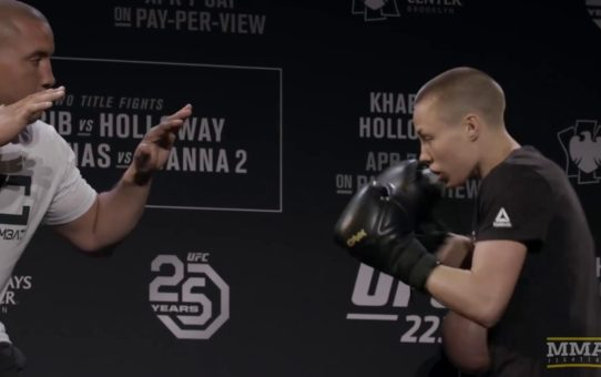 UFC 223: Rose Namajunas Open Workout – MMA Fighting