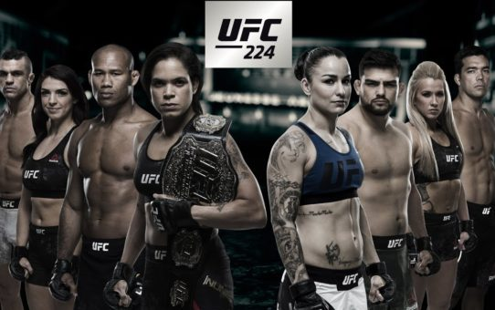 UFC 224: Nunes vs Pennington – Stacked