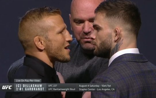 UFC 25th Anniversary Press Conference Faceoffs
