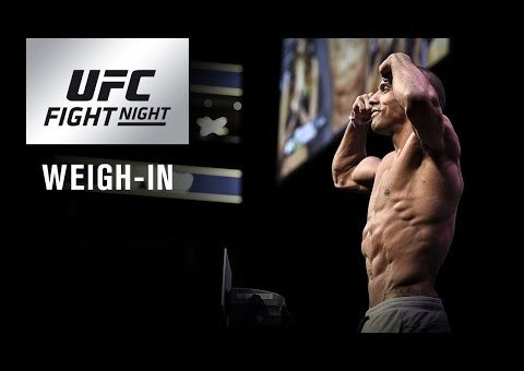 UFC Fight Night Atlantic City: Weigh-in
