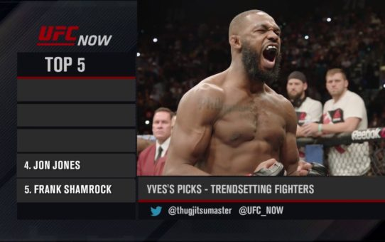 UFC Now: Top 5 Trendsetting Fighters