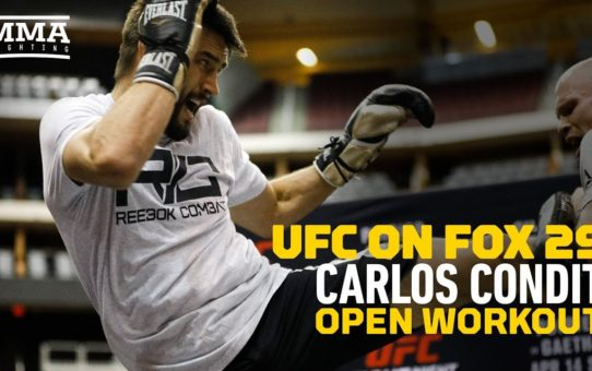 UFC on FOX 29: Carlos Condit Open Workout Highlights – MMA Fighting
