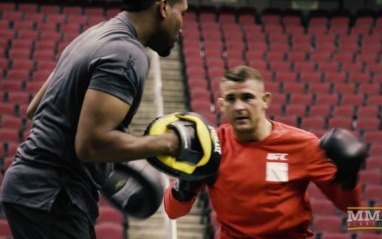 UFC on FOX 29: Dustin Poirier Open Workout Highlights – MMA Fighting