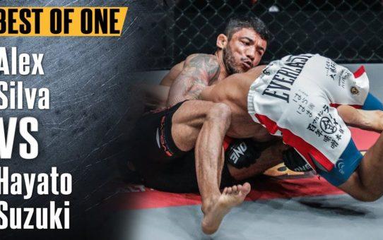 ONE: Best Fights   Alex Silva vs. Hayato Suzuki   Two Elite World-Class Grapplers   November 2017
